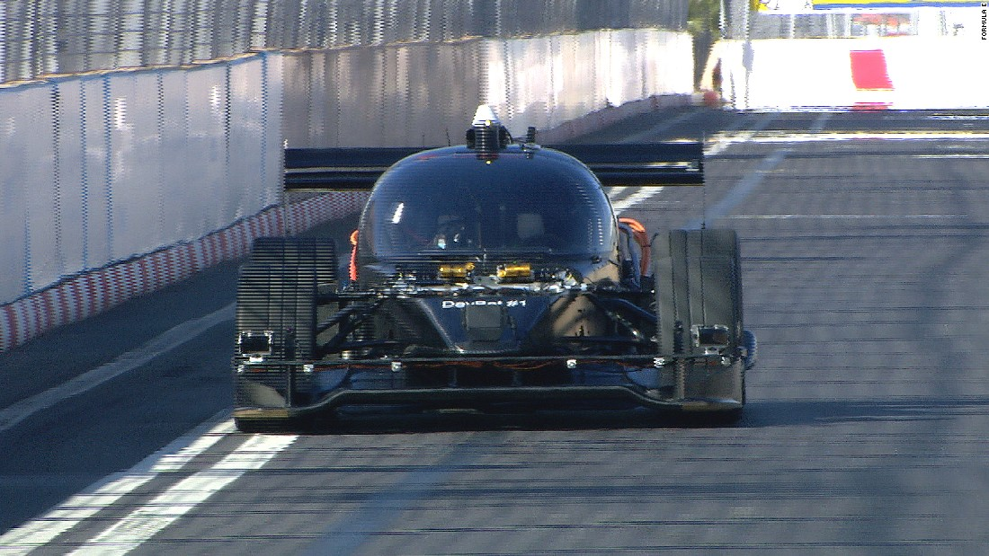 The Roborace will debut on the streets of Marrakech