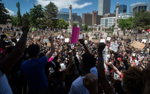 George Floyd's protests spread across the country