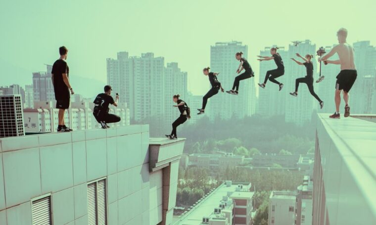 Hollywood: The extreme parkour team whose death-defying jumps caught the attention of the film industry