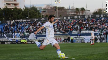 Granero joined Marbella this year and hopes to secure the promotion.