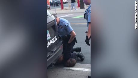 4 Minneapolis police officers fired after video shows one kneeling on the neck of a black man who later died