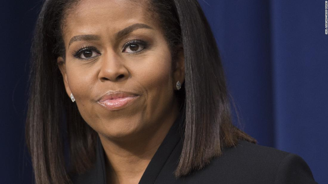 Michelle Obama: It is up to all to eradicate racism
