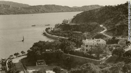 The Macao coast in 1941.