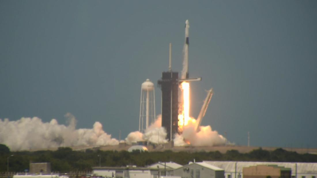NASA and SpaceX launch astronauts from US soil for the first time in a decade