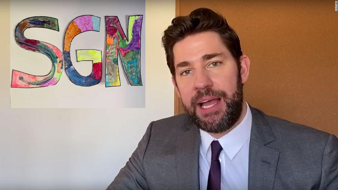 John Krasinski explains why he sold 'Some Good News'