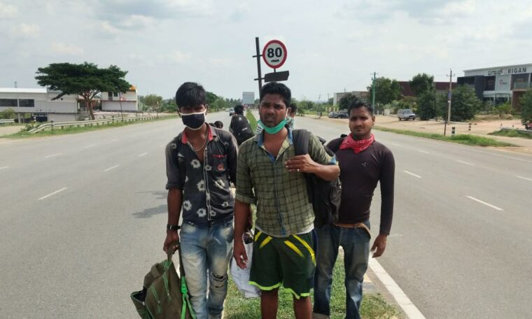 India's Coronavirus Enclosure: A 1,250-Mile Man's Agonizing Journey Home ... On Foot