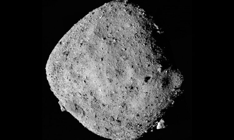 2 different asteroids visited by spacecraft may have been part of 1 larger asteroid