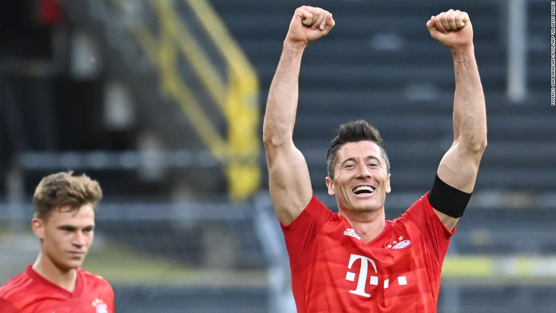 Der Klassiker: in mysterious silence, Bayern Munich approaches the Bundesliga title with victory over Borussia Dortmund