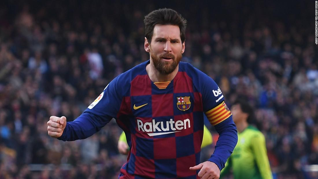Lionel Messi and La Liga stars move forward to resume play early next month