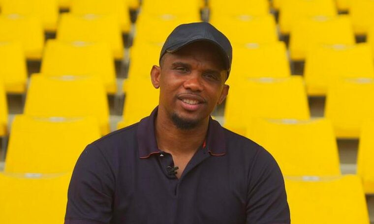 Samuel Eto'o celebrated for more than football