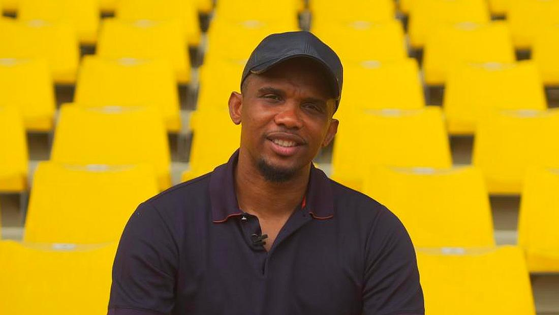 Samuel Eto'o celebrated for more than football