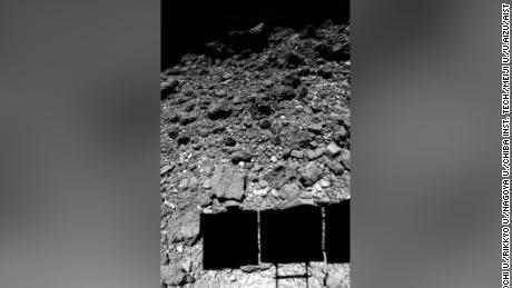 The near-Earth asteroid Ryugu made an