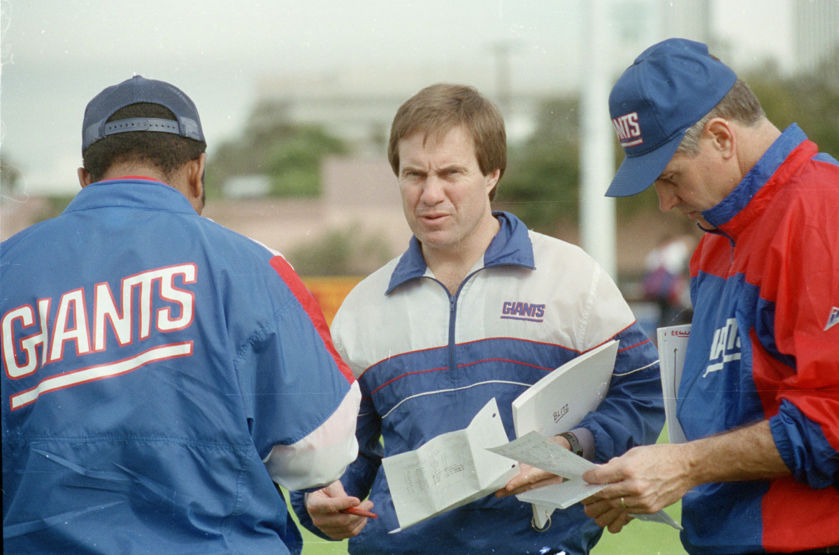 Bill Belichick as coach of the Giants is the first of many Big Blue that such