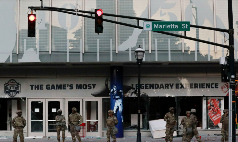 College Football Hall of Fame Plundered in George Floyd Atlanta Riots