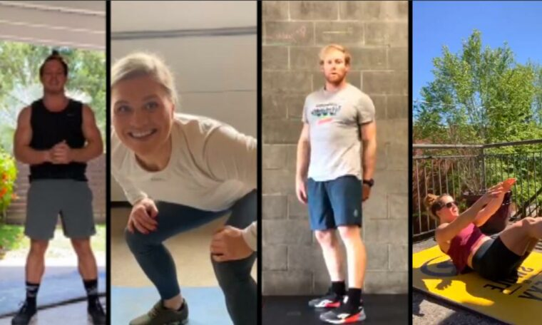 CrossFit Games athletes show you how to exercise like the fittest athletes on Earth