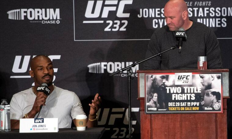 Dana White steps up UFC feud with Jon Jones amid currency battle