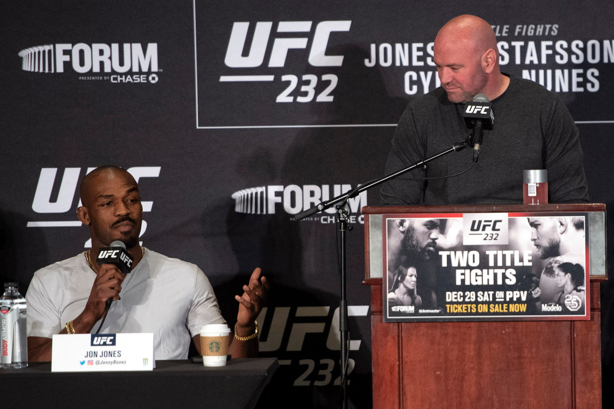 Dana White steps up UFC feud with Jon Jones amid currency battle