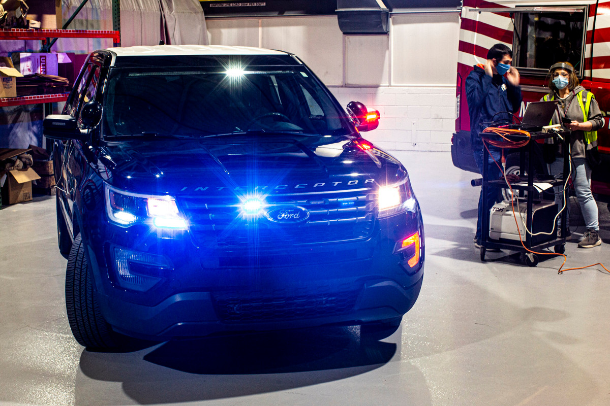 Ford police officers can now kill the coronavirus with extreme heat