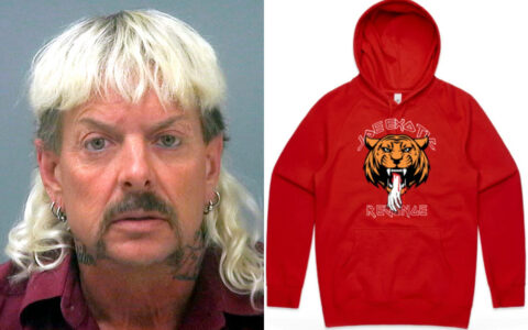 Joe Exotic's 'Revenge' urban clothing line runs out in hours