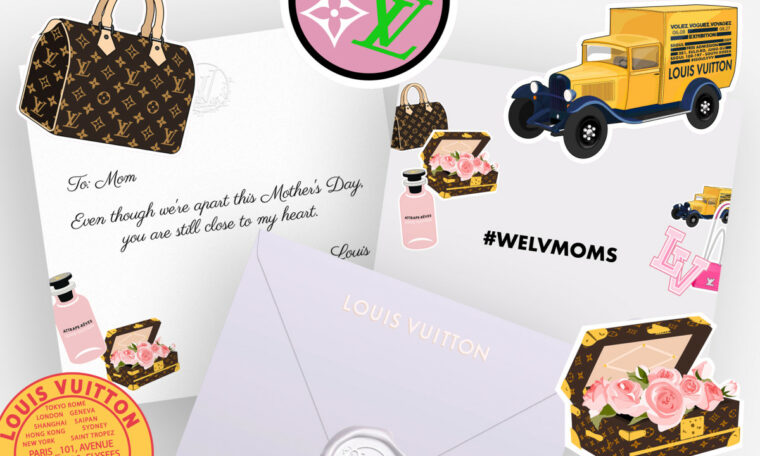 Louis Vuitton Launches Free Mother's Day 2020 E-Cards