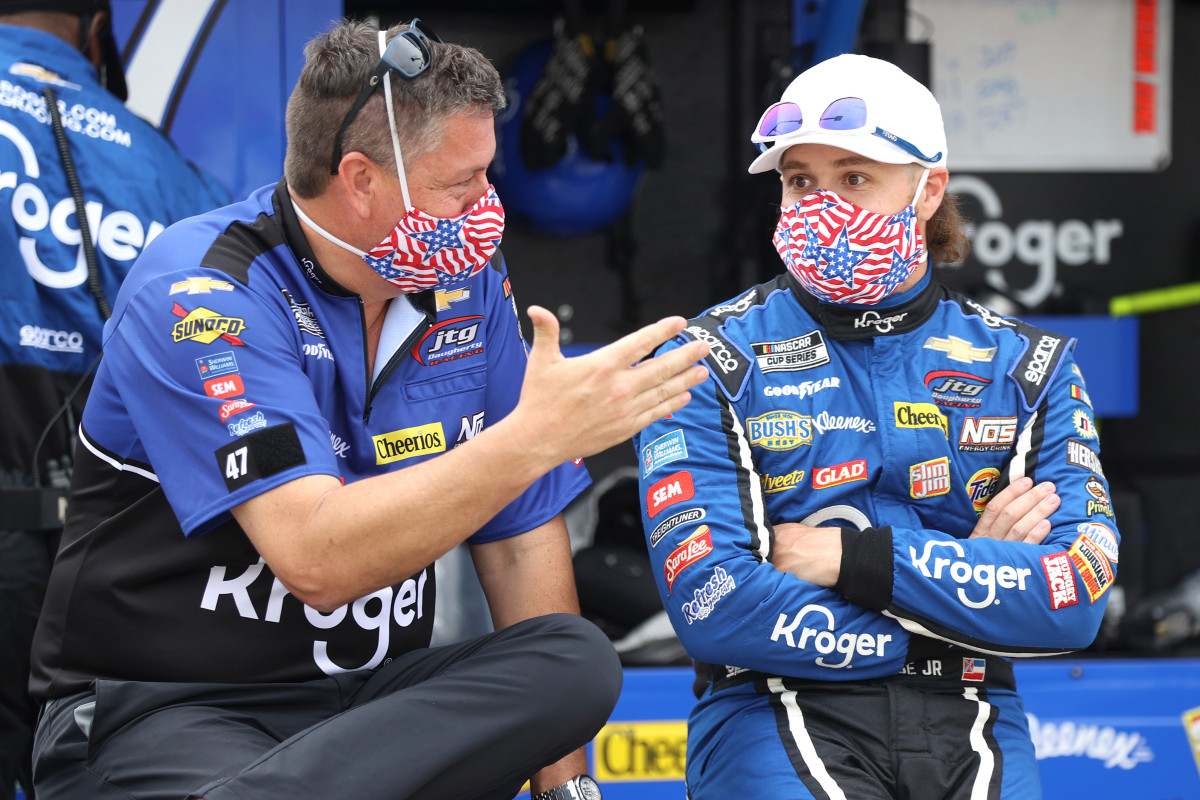 NASCAR driver Ricky Stenhouse Jr. set for great race after slow start