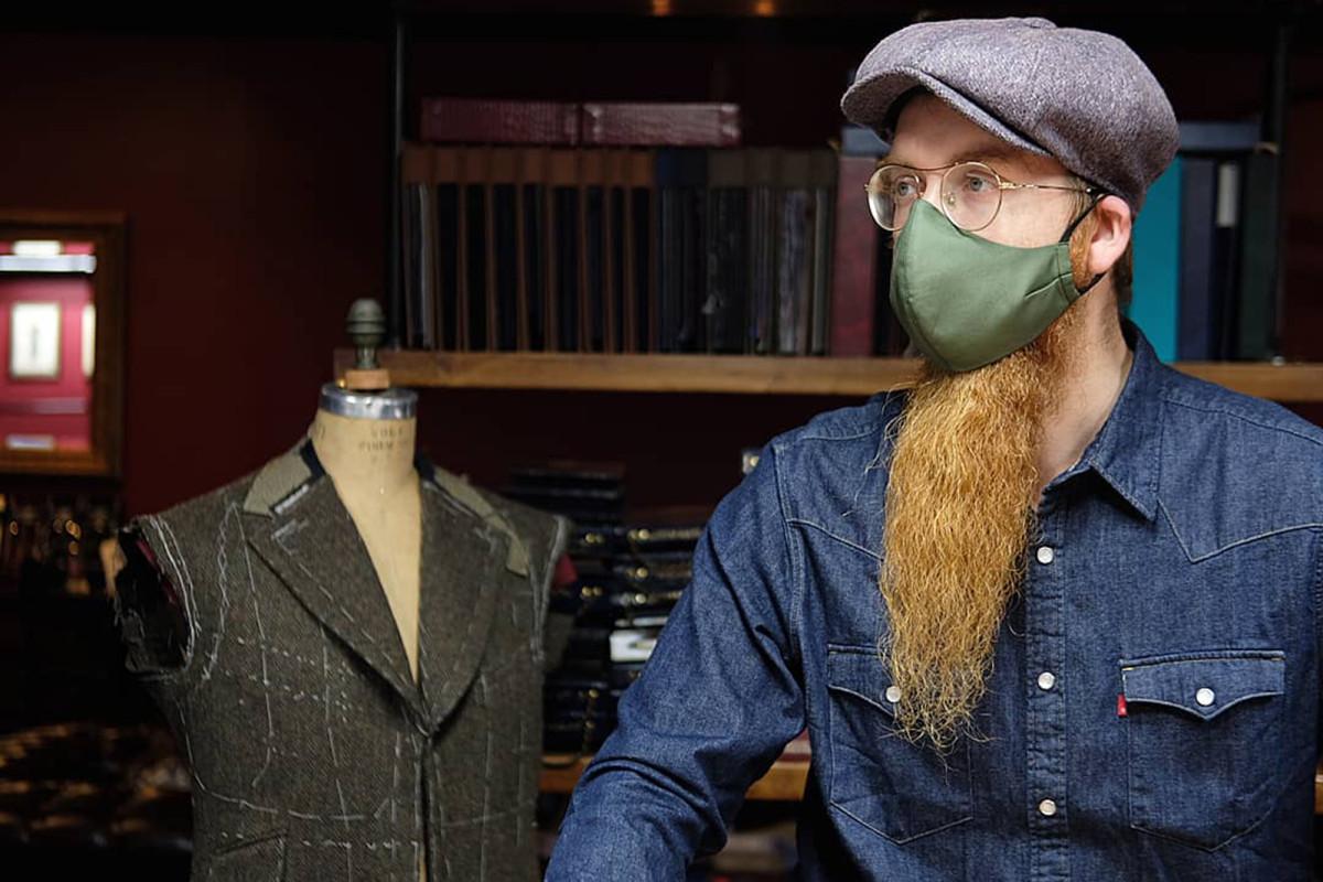 New York bespoke $ 300 custom masks are coming off the shelves
