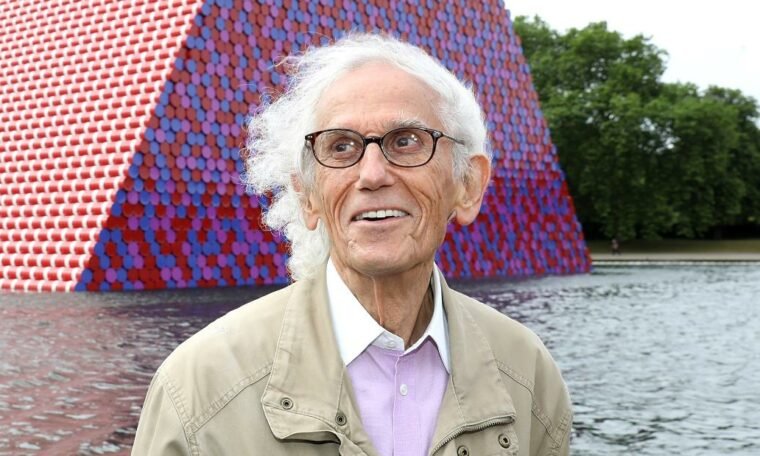 Artist Christo died at the age of 84.