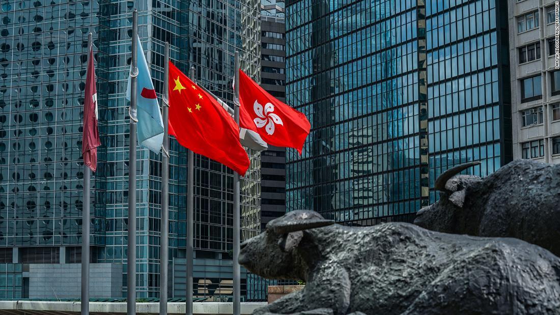 Hong Kong stocks rise as investors ignore U.S.-China tensions