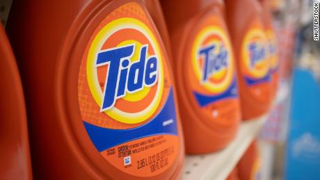 Procter & amp; Gamble has noticed an increase in the number of weekly laundry loads in the United States.
