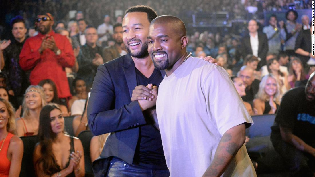John Legend says his friendship with Kanye West has evolved