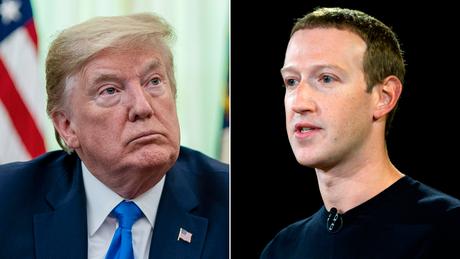 Trump and Zuckerberg spoke on the phone Friday