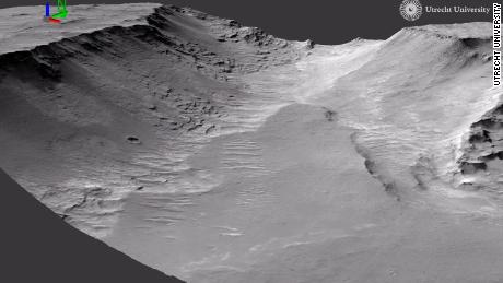 Evidence of Ancient Rivers Seen on Mars: Study