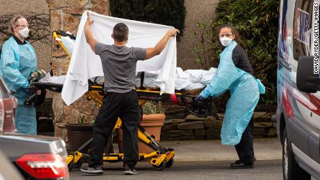A quarter of American nursing homes report at least one coronavirus infection, according to the first official count