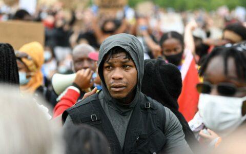 John Boyega tells London Black Lives Matter protesters: 'Now is the time'