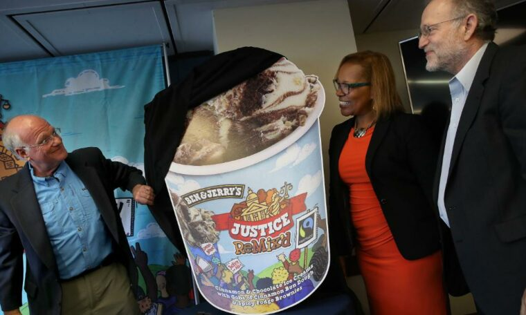 Ben and Jerry's founders arrested at protest