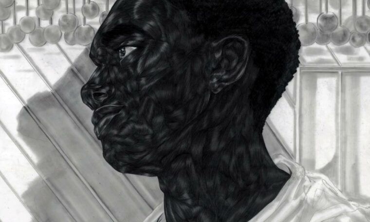 Artist Toyin Ojih Odutola in drawing intricate portraits of black life