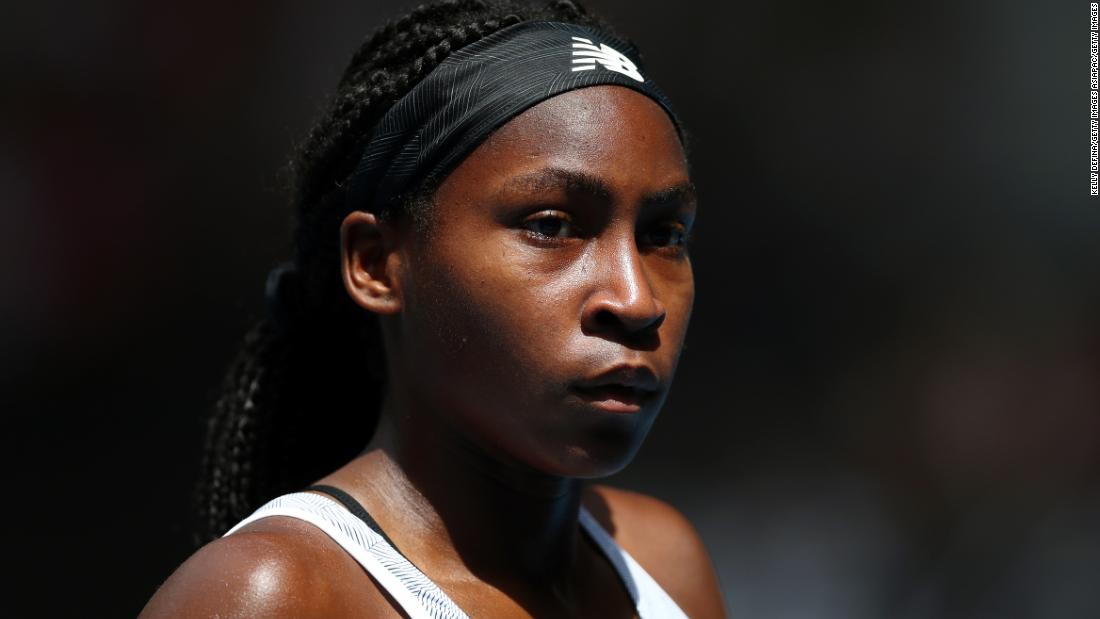 Coco Gauff demands change and promises to fight racial injustice