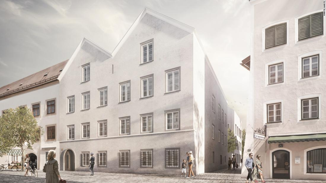Austrian architects to transform Hitler's birthplace into a police station