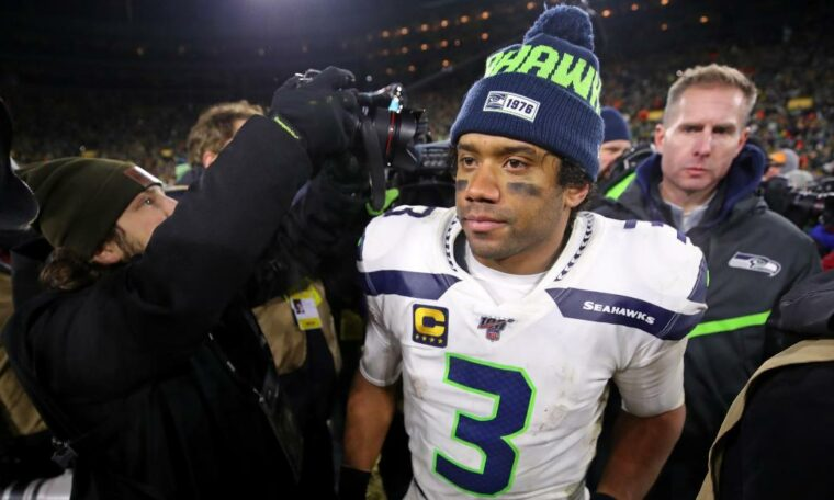 "Russell Wilson: ""I have a heavy heart right now,"" says Seattle Seahawks quarterback"