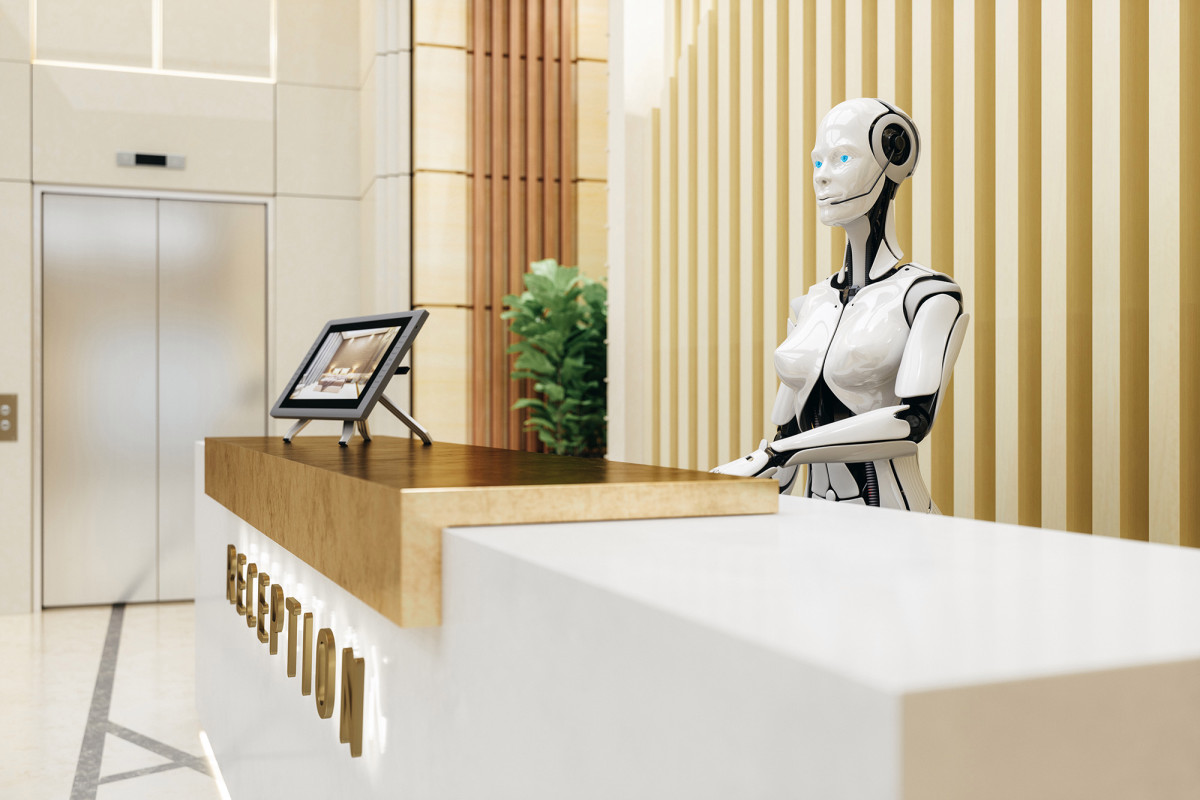American office workers are terrified of losing their job to a robot