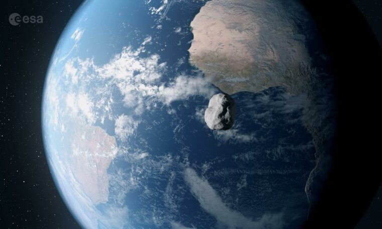 Small asteroid to safely fly by Earth