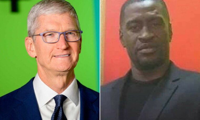 Apple CEO Tim Cook criticizes George Floyd's death, promises donation
