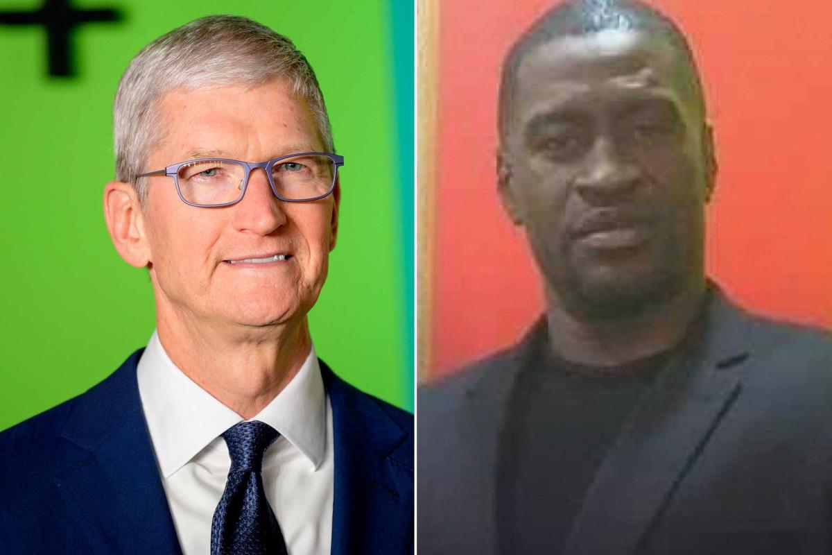 Apple CEO Tim Cook criticizes George Floyd's death, promises donation