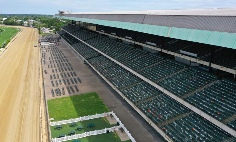 Belmont reintroduces live sports in New York when racing returns