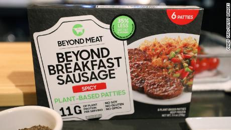 Meat shortages and deals with China cause Beyond Meat's shares to skyrocket