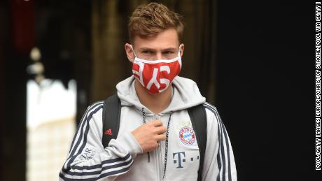 Joshua Kimmich says the players have the & # 39; responsibility & # 39; to join the racism protests.