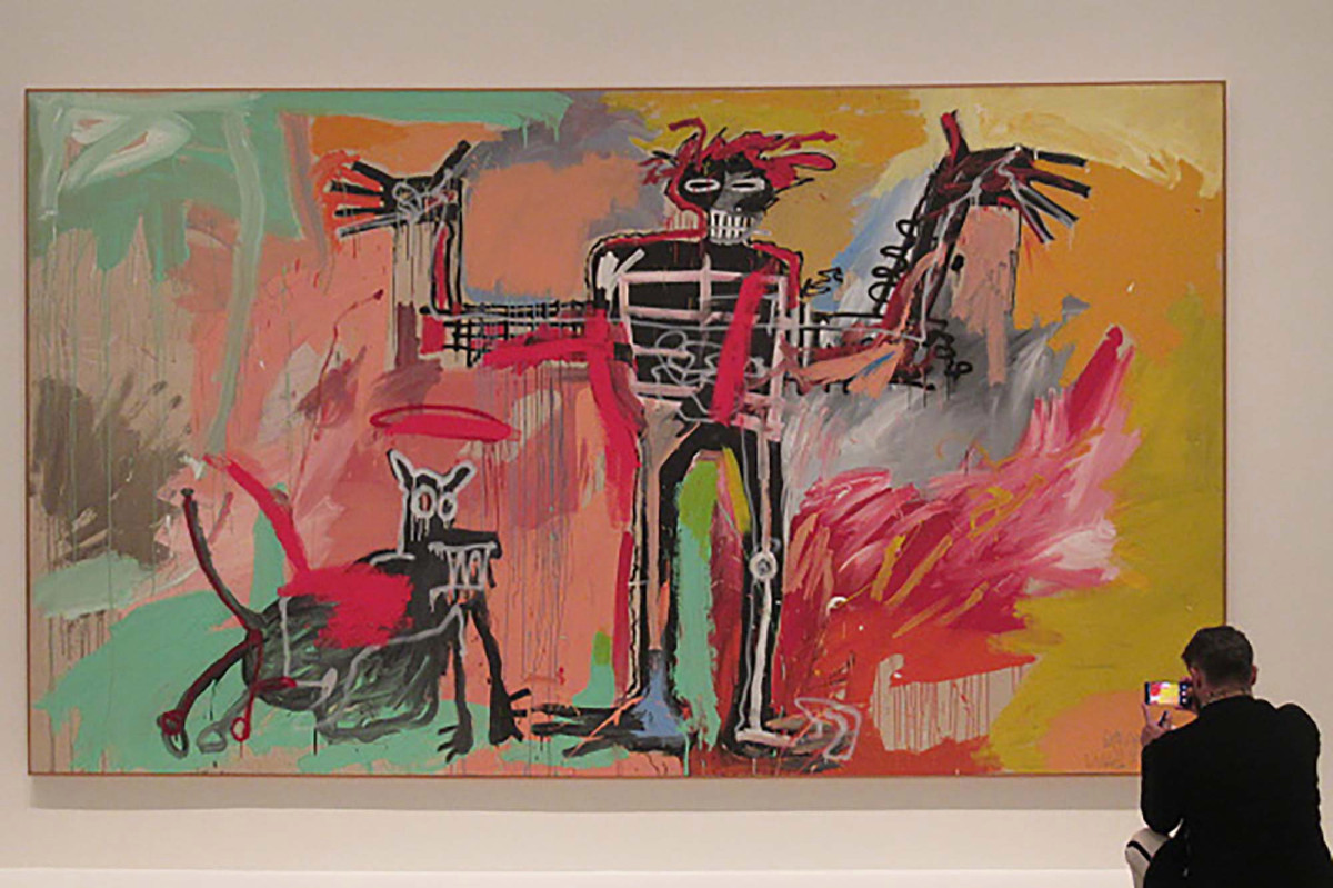 Ken Griffin pays $ 100 million for Basquiat painting amid racial protests