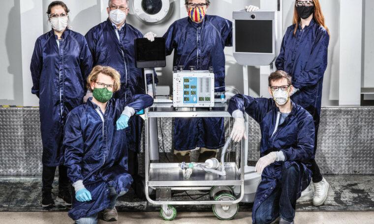 NASA's coronavirus fan is in production