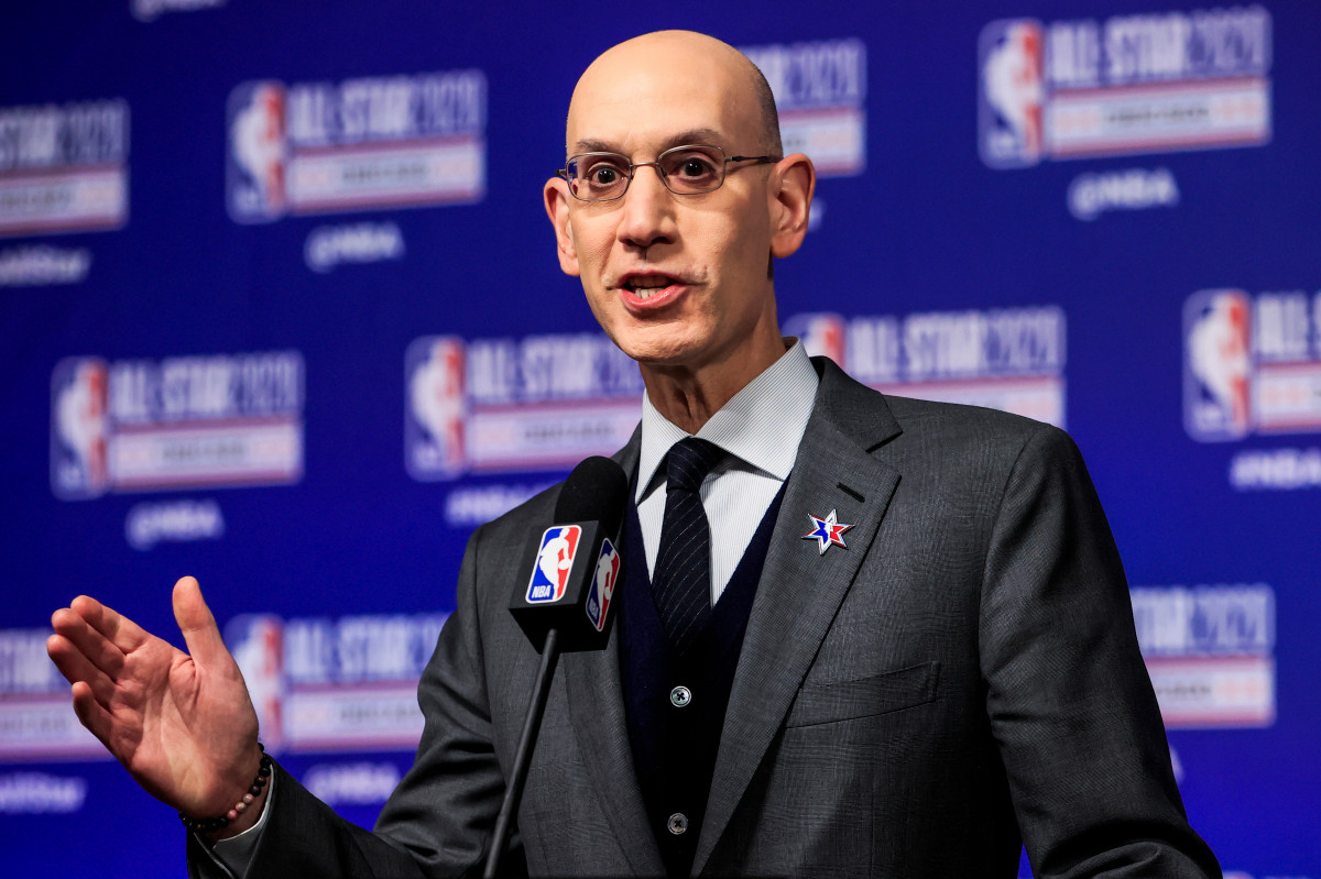 NBA's Adam Silver addresses racial tensions in staff note
