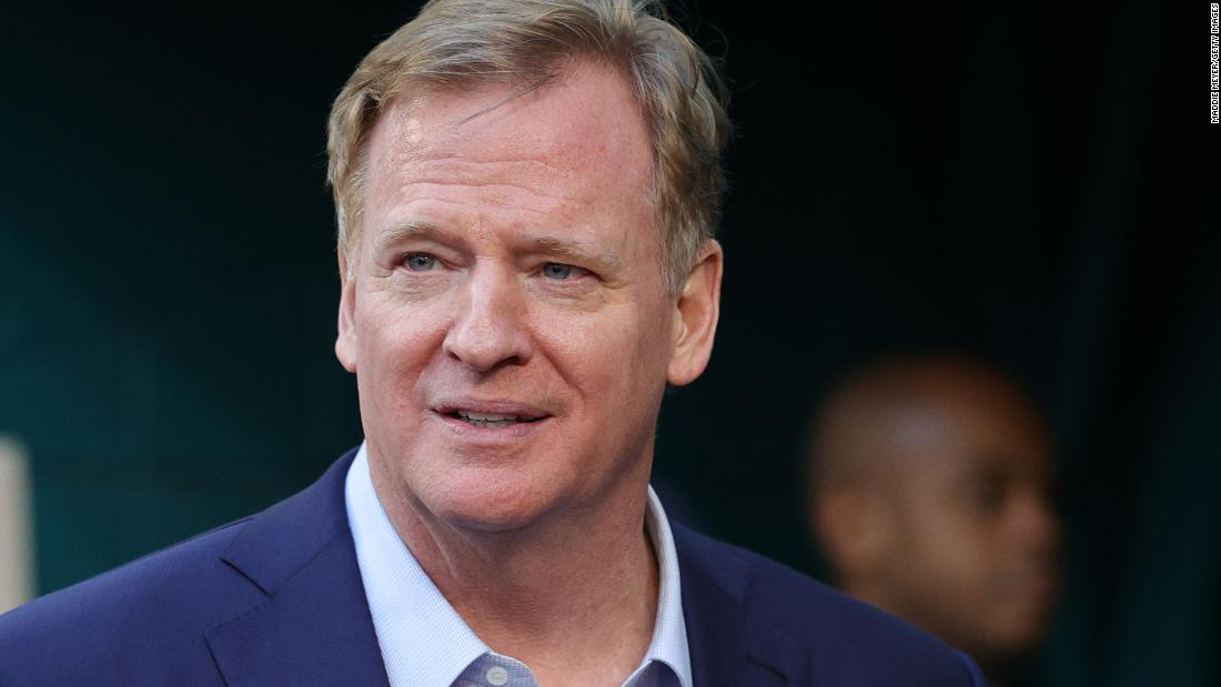 NFL Commissioner Roger Goodell says league was wrong for not listening to players earlier about racism